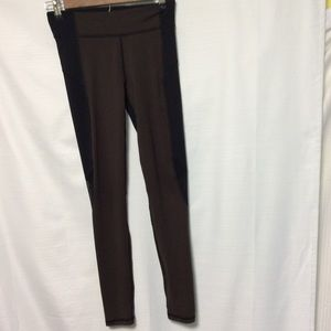 LLD running two tone leggings size small